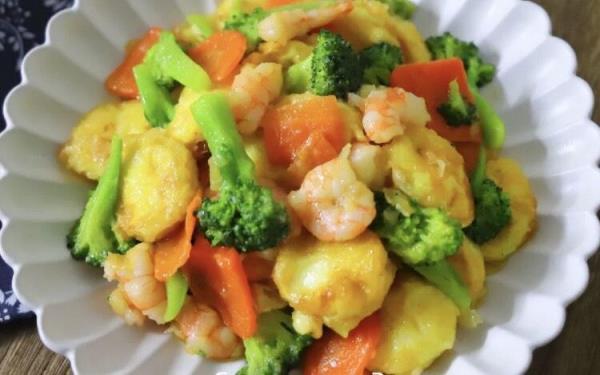 减脂期的美味料理、清爽又好吃的三鲜豆腐食谱来了!